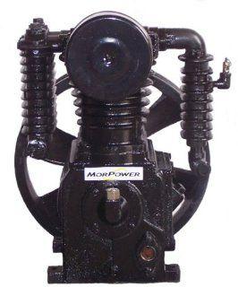 Cast Iron Air Compressor Pump, 2 Stage 175 PSI 26 CFM