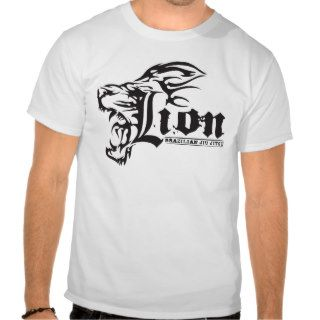 Lion Fight Wear Brazilian Jiu Jitsu Shirts