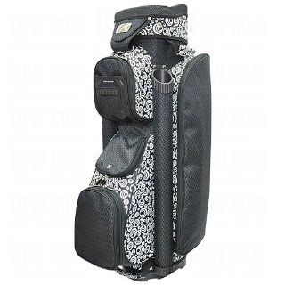 RJ Sports Ladies Boutique Deluxe Cart Golf Bag Hibiscus  Sports & Outdoors