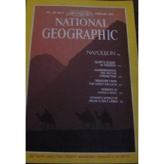 "National Geographic Magazine, February 1982, ""Napoleon"" (National Geographic Magazine, Vol. 161, No. 2): Books"