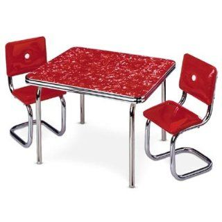 American Girl Molly's Table & Chair Red Toys & Games