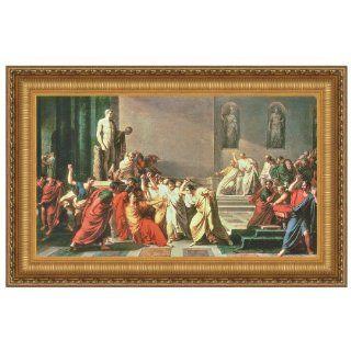 Death of Julius Caesar Canvas Replica Painting Small   Oil Paintings