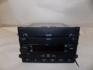 06 06 Ford Explorer Mountaineer Radio  6 Disc CD changer 2006 #3777 Automotive