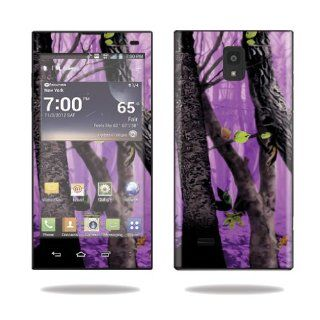 MightySkins Protective Vinyl Skin Decal Cover for LG Spectrum 2 Cell Phone Sticker Skins Purple Tree Camo: Computers & Accessories