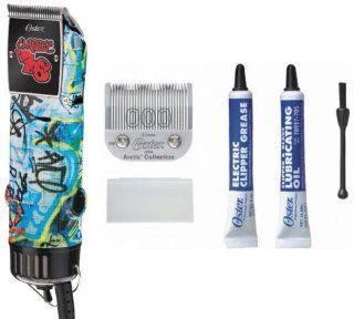 Oster Professional 76076 127 Single Speed Clipper, Grafiti Style Health & Personal Care