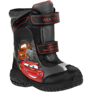 Disney   Toddler Boys Cars Winter Boots Baby Clothing