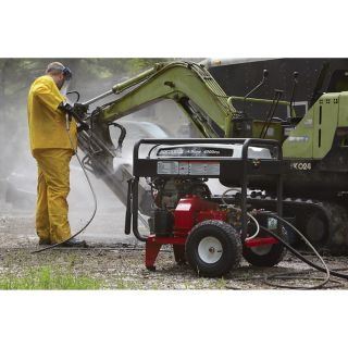 NorthStar Gas Cold Water Pressure Washer — 4.5 GPM, 4000 PSI, Electric Start, Belt Drive, Model# 1572081  Gas Cold Water Pressure Washers