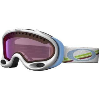 Oakley Gretchen Bleiler A Frame Geo Peaks Women's Special Editions Signature Series Snowboarding Snowmobile Goggles Eyewear   G30 Iridium / One Size Fits All Automotive