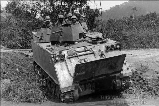 "M113, Armored Personnel Carrier APC, Vietnam 1966   24""x36"" Poster : Prints : Everything Else"