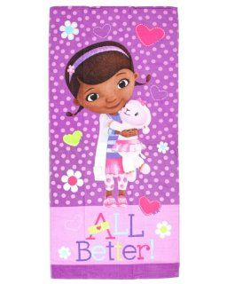 Doc McStuffins All Better Beach Towel