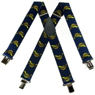 """SUS 412 NSNA   Navy Seal Suspenders   2.00 """" Made in U.S.A at  Men�s Clothing store"""