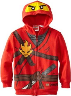 Lego Ninjago Kai Boys Hooded Sweatshirt (2T) Clothing