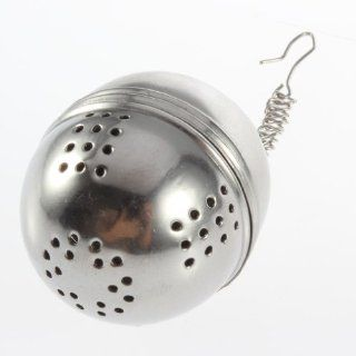 Boboshop Stainless Steel Tea Locking Spice Egg Shaped Ball: Kitchen & Dining