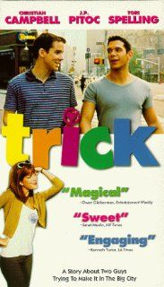 Trick [VHS]: Christian Campbell, John Paul Pitoc, Tori Spelling, Brad Beyer, Lacey Kohl, Abbey Hope, Becky Caldwell, Kate Flannery, Steve Hayes, Will Keenan, Joey Dedio, Ricky Ritzel, Jim Fall, Anthony Bregman, Eric d'Arbeloff, Mark L. Beigelman, Mary