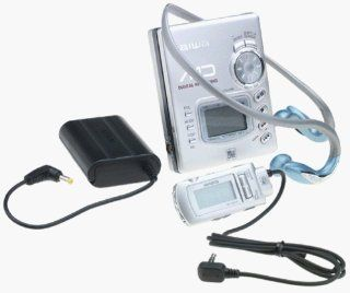 Aiwa AMF70 Portable Minidisc Recorder/Player : Component Minidisc Players And Recorders : MP3 Players & Accessories