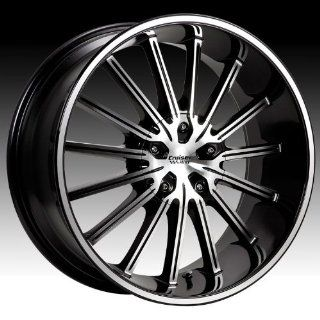 Cruiser Alloy Attack 16x7.5 Machined Black Wheel / Rim 5x100 & 5x4.5 with a 38mm Offset and a 73.00 Hub Bore. Partnumber 910MB 6751838: Automotive