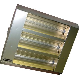 TPI Indoor/Outdoor Quartz Infrared Heater — 16,382 BTU, 240 Volts, Stainless Steel, Model# 223-90-TH-240V  Electric Garage   Industrial Heaters