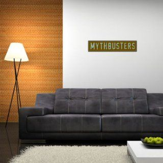 """Mythbusters Wall Graphic Decal Sticker 28"""" x 7""""   Wall Decor Stickers"""