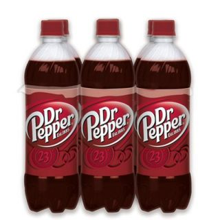 Dr. Pepper Soda 16.9 oz, 6 pk