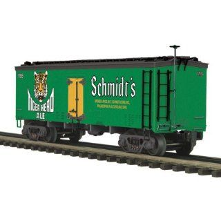 O 36' Wood Reefer, Schmidt'S Tiger Head Ale MTH2094342: Toys & Games