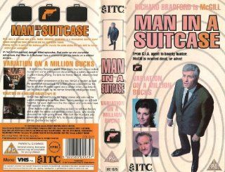 Man in a Suitcase [VHS]: Richard Bradford, Ricardo Montez, Warren Stanhope, Frank Forsyth, Arthur Howell, Pauline Chamberlain, Ron Randell, Colin Blakely, Y�ko Tani, Donald Sutherland, Anton Rodgers, Philip Madoc, Dennis Spooner, Richard Harris: Movies &am