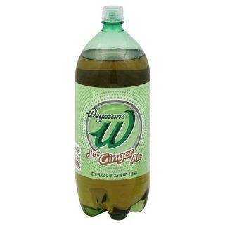 Wgmns W Soda, Ginger Ale, Diet, 2 Liter, Gluten Free. Lactose Free. Vegan. Caffeine Free, (Pack of 4) : Soda Soft Drinks : Grocery & Gourmet Food