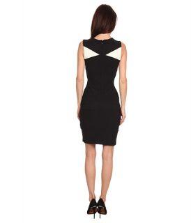 Just Cavalli S04CT0178N20542 Color Block Bondage Dress