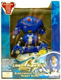 Lost In Space   Electronic Robot   Talking Bank   1998   Toy Island Toys & Games