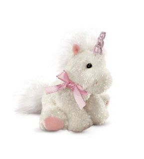 "7"" Mystique Unicorn Plush  White: Toys & Games"