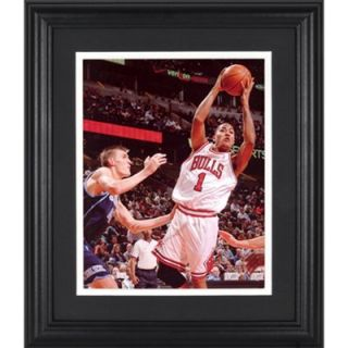 Derrick Rose Chicago Bulls Framed Unsigned 8 x 10 Shooting Photograph