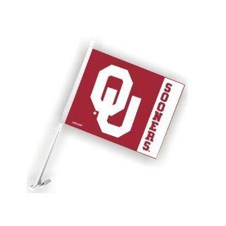 University of Oklahoma Sooners   Car Flag w/panel style & OU logo  Automotive Flags  Sports & Outdoors