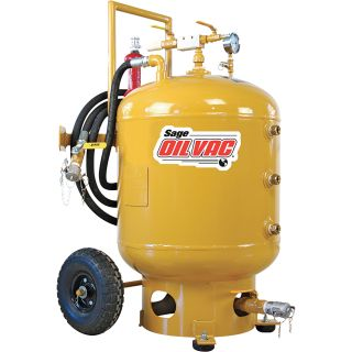 Sage Oil Vac Fluid Recovery System — 30 Gallons, Model# 30080 Cart  Oil Extractors