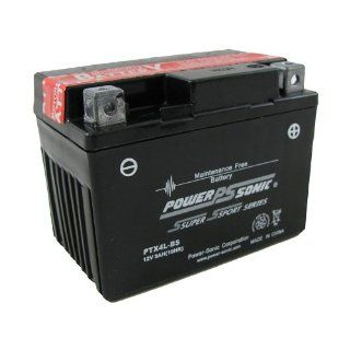 Power Sonic PowerSonic PTX4L BS 12V, 3AH Battery model number PTX4L BS Automotive