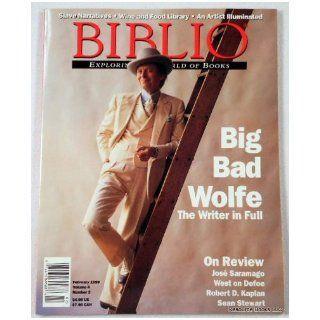 Biblio Magazine   February 1999. Volume 4, Number 2 Biblio Magazine Books