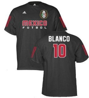 Cuauhtemoc Blanco Mexico Futbol / Soccer Black Jersey Name And Number Youth T Shirt X Large : Sports Fan Jerseys : Sports & Outdoors