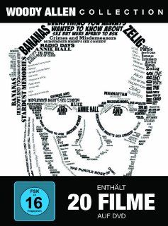 Woody Allen Collection (20 Discs): Woody Allen, Joe Mantegna, Mia Farrow, William Hurt, Gena Rowlands, Gene Hackman, Louise Lasser, Carlos Montalban, Nick Apollo Forte, Sir Michael Caine, Carrie Fisher, Kristin Griffith, Mary Beth Hurt, E. G. Marshall, Dia