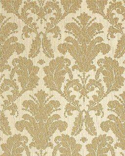 EDEM 752 30 Barocktapete hochwertige gepr�gte Luxus Neo Barock Damask Tapete creme gold platin Küche & Haushalt