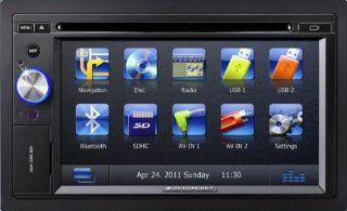 BLAUPUNKT New York 800 Truck Multimedia Navigation PKW & LKW 6.2 Z Touch Screen Display TMC BT DVD/CD Player BT iPod/iPhone inkl. FB Navigation & Car HiFi