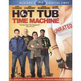 Hot Tub Time Machine (Unrated) (2 Discs) (Includ