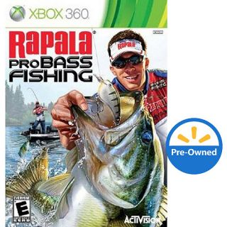 Rapala Pro Bass Fishing 2010 Xbox 360 Pre Owned Games