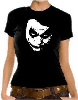 Heath Ledger   JOKER Girlie T Shirt XS XL div. Farben Bekleidung