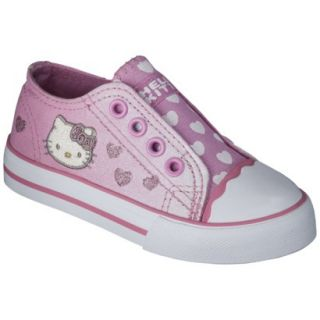 Toddler Girls Hello Kitty Canvas Sneaker   Pink