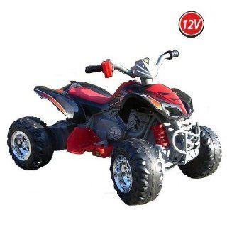 Quad ATV Kinderfahrzeug Kinderauto Kinder Elektroauto (schwarz) Spielzeug
