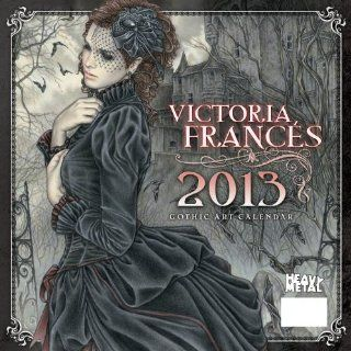 Art of Victoria Frances 2013 Calendar Heavy Metal Magazine Fremdsprachige Bücher