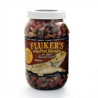 Fluker's Buffet Blend Adult Bearded Dragon Formula, 2.9 Ounce : Pet Food : Pet Supplies