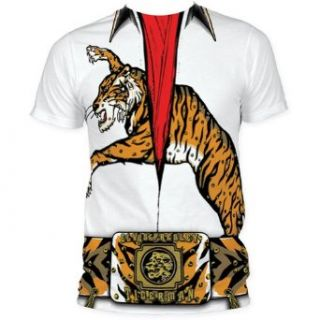 SUBEP13 Elvis Presley Tiger Man Jumpsuit Costume Men's Subway T shirt XXL Music Fan T Shirts Clothing