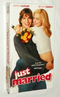 Just Married [VHS]: Brittany Murphy, Ashton Kutcher, Shawn Martin Levy: Movies & TV