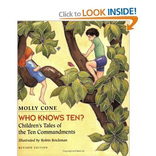 Who Knows Ten Children's Tales of the Ten Commandments Molly Cone 9780807400807  Kids' Books