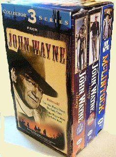 John Wayne Collector's 3 Pack Series McLintock; The John Wayne Story Early Years and Later Years John Wayne, Maureen O'Hara, Mike Egan Movies & TV