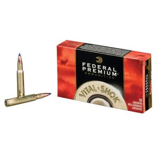 Federal Premium Vital Shok Centerfire Rifle Ammo .270 WSM 150 Gr. PAR 757137